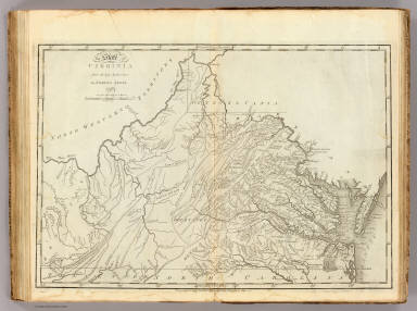State of Virginia. / Carey, Mathew / 1796