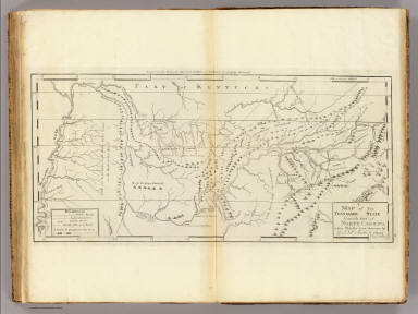 Map of The Tennassee State. / Carey, Mathew / 1796