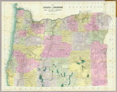 State Of Oregon. / J.K. Gill Company; E.P. Noll & Co. / 1911