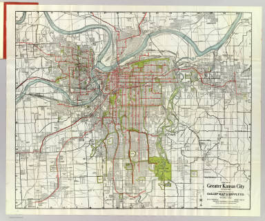 Greater kansas city gallup map supply company 1920