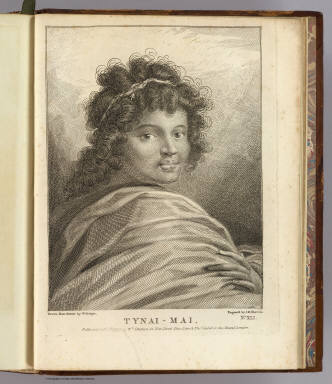 Tynai-Mai. / Hodges, William, 1744-1797; Cook, James, 1728-1779 / 1777