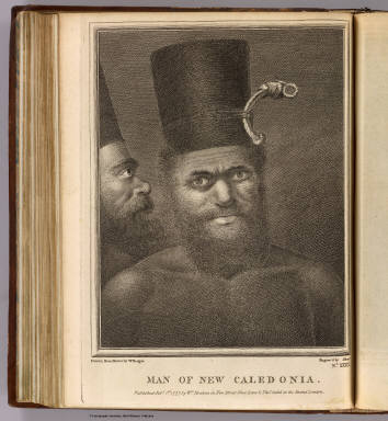 Man of New Caledonia. / Hodges, William, 1744-1797; Cook, James, 1728-1779 / 1777