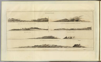Sandwich Islands. (After missing views by Bligh and possibly Webber. London, G. Nicol and T. Cadell, 1785)