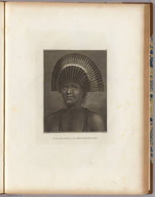 Poulaho, King of the Friendly Islands. J. Webber del. J. Hall sculp. (London, G. Nicol and T. Cadell, 1785)