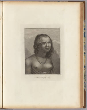 A woman of Eaoo. J. Webber del. J. Hall sculp. (London, G. Nicol and T. Cadell, 1785)