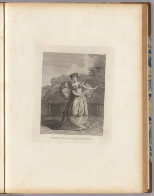 A young woman of Otaheite, dancing. J. Webber del. J.K. Sherwin sc. (London, G. Nicol and T. Cadell, 1785)
