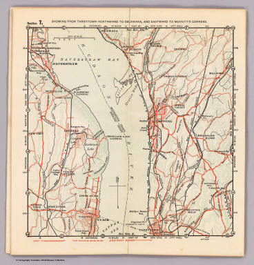 Section 7. Showing from Tarrytown northward to Oscawana, and eastward to Merritt's Corners. (1902)