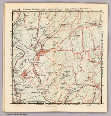 Section 10. Showing from Croton Landing northward to county line, and eastward to Yorktown. (1902)
