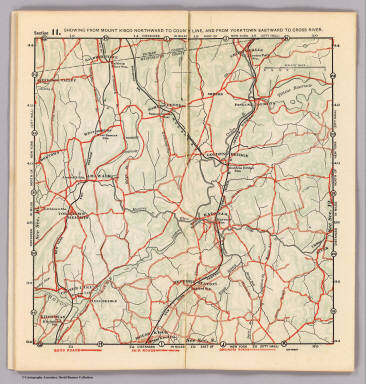Section 11. Showing from Mount Kisco northward to county line, and from Yorktown eastward to Cross River. (1902)