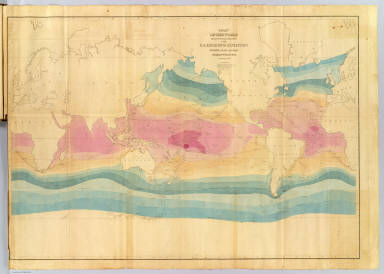 Chart Of The World Shewing The Tracks of the U.S. Exploring Expedition. / United States Exploring Expedition (1838-1842); Wilkes, Charles, 1798-1877 / 1842