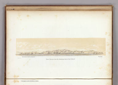 View of Benicia from the anchorage east of Seal Island. S.F. Blunt, U.S.N. W.H. Dougal. (Washington: printed by Jno. T. Towers, 1852)