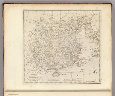 China, divided into it's Great Provinces According to the best Authorities. B. Tanner Sc. N. York. Engraved for Carey's American Edition of Guthrie's Geography improved.