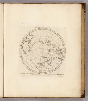 A Map of the Countries situate about the North Pole as far as the 50th Degree of North Latitude. W. Barker sculp. Engraved for Carey's Edition of Guthrie's Geography improved.