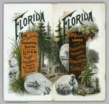 Cover: Township map Florida.