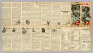 (Text Page to) L&N winter resorts. L&N Gulf Coast sports. Poole Bros. Chicago. (1890?)