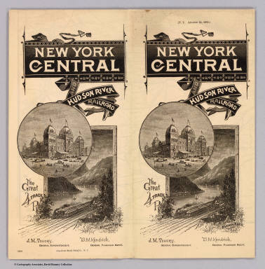 Cover: N.Y. Central & Hudson R. RR. / New York Central and Hudson River Railroad Company / 1885