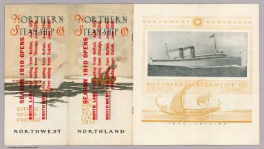 (Covers to) Northern Steamship Co. Northland. Northwest ...