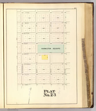 Plat 23 [San Francisco) / (William P. Humphreys & Co.) / 1876