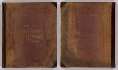 Cover: Atlas San Francisco. / William P. Humphreys & Co. / 1876
