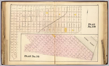 Plat 39-40 [San Francisco) / (William P. Humphreys & Co.) / 1876