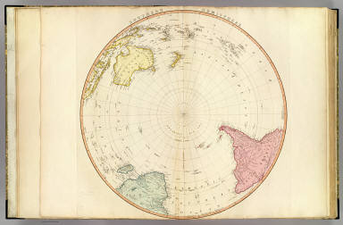S. Hemisphere. / Faden, William / 1802
