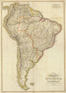 Composite: Colombia Prima, S. America. / Delarochette, L.; Faden, William / 1811