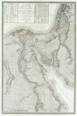 Composite: Egypte geographique. / Jacotin, Pierre, 1765-1827; France. Armee. Genie / 1818