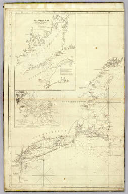The north eastern coast, North America, New York to Cape Canso (west sheet) / Blunt, Edmund M. (Edmund March), 1770-1862; Des Barres, Joseph F. W. (Joseph Frederick Wallet), 1722-1824; Taber, W. C.; Wadsworth, A. S. (Alex. S.) / 1828