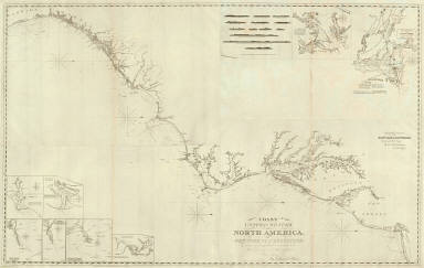 Composite: U.S. coast N.Y. to St. Augustine. / Blunt, Edmund M. (Edmund March), 1770-1862; Adams, D. P. / 1827