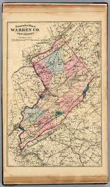 Warren Co., N.J. / Beers, F. W. (Frederick W.) / 1872