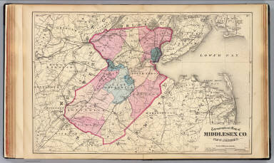 Middlesex Co., N.J. / Beers, F. W. (Frederick W.) / 1872