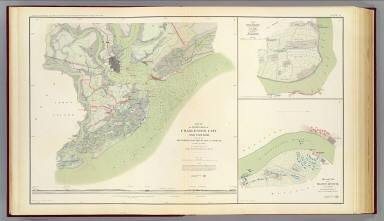 Charleston defenses, Belmont battlefield. / Gilmore, Quincy A.; Arms, G.H.; Grant, Ulysses S. (Ulysses Simpson), 1822-1885; United States. War Department / 1895