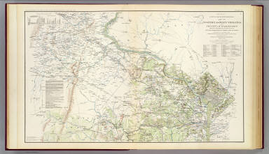 N.E. Virginia, Washington 1. / Young, J. J.; Hesselbach, W.; U.S. War Department, Topographical Engineers; United States. War Department / 1895