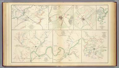 US CONFEDERATE STATES 1862 TN MAP GIBSON GILES GRANGER GREENE GRUNDY COUNTY huge