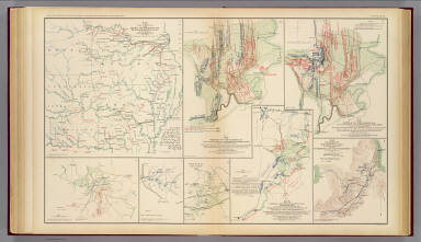 Army of Missouri campaigns. / Morris, Walter J.; United States. War Department / 1895