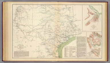 Texas, pt. of N.M. / United States. War Department / 1895