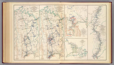Upper Potomac McCoys Ferry-Conrads Ferry. / Gillespie, George L.; United States. War Department / 1895