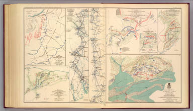 Petersburg environs; Bentonville; Carolinas; Spanish Fort. / United States. War Department / 1895
