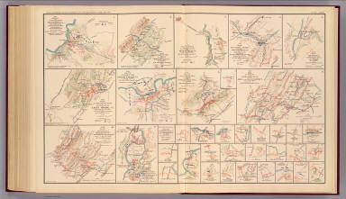 Milford, Brock's Gap, Moorefield, New Creek, etc. / Hotchkiss, Jed.; Confederate States of America. Army of Northern Virginia / 1895