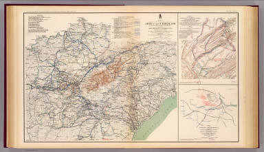 Army of the Cumberland campaigns. / Ruger, Edward; United States. War Department / 1895
