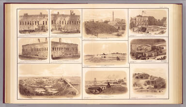Forts Sumter & Moultrie, Sullivan's Island. / Beauregard, G. T.; Confederate States of America. Army. / 1895
