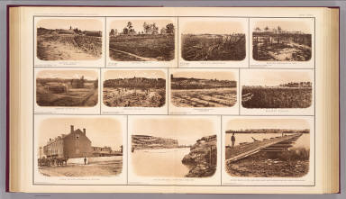 Batteries, redoubts, building, canal, bridge. / United States. War Department / 1895