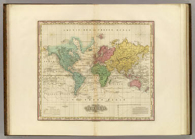 The World On Mercators Projection. / Tanner, Henry S. / 1825