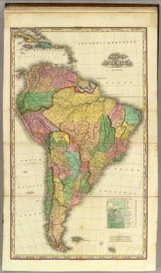South America With Improvements To 1823. / Tanner, Henry S. / 1825