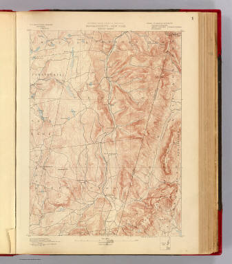 Massachusetts-New York. Berlin sheet. Preliminary edition subject to corrections. U.S. Geological Survey, J.W. Powell, Director. State of Massachusetts ... commissioners. Henry Gannett, Chief Geographer. Marcus Baker, geographer in charge. Triangulation by the U.S. Coast and Geodetic Survey and C.C. Bassett. Topography by E.W.F. Natter and C.C. Bassett. Surveyed in 1885-88. Forbes Co., Boston & N.Y. (1890)