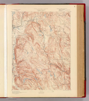 Massachusetts. Becket sheet. Preliminary edition subject to corrections. U.S. Geological Survey, J.W. Powell, Director. State of Massachusetts ... commissioners. Henry Gannett, Chief Geographer. Marcus Baker, geographer in charge. Triangulation by the U.S. Coast and Geodetic and Borden surveys. Willard D. Johnson, Topographer in charge. Topography by Robert D. Cummin. Surveyed in 1886. Forbes Co., Boston & N.Y. (1890)