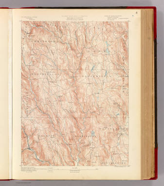 8. Chesterfield sheet. / Geological Survey (U.S.); Massachusetts. Topographical Survey Commission / 1890
