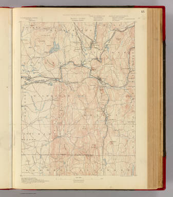 Mass.-Conn. Palmer sheet. Preliminary edition subject to corrections. U.S. Geological Survey, J.W. Powell, Director. State of Connecticut ... State of Massachusetts ... commissioners. Henry Gannett, Chief Geographer. Marcus Baker, geographer in charge. Triangulation by the U.S. Coast and Geodetic Survey. Topography by C. Arrick, D.J. Howell, W. Kramer, and R. Robertson under the direction of S.H. Bodfish and E.W.F. Natter. Surveyed in 1886-7. Forbes Co., Boston & N.Y. (1890)