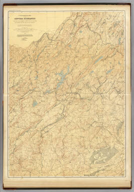 3 Central Highlands. / Geological Survey of New Jersey; Cook, George Hammell, 1818-1889; Smock, John Conover;  Vermeule, C. C. (Cornelius Clarkson), 1858-1950 / 1888