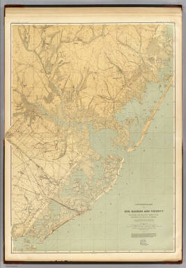 16 Egg Harbor. / Geological Survey of New Jersey; Cook, George Hammell, 1818-1889; Smock, John Conover;  Vermeule, C. C. (Cornelius Clarkson), 1858-1950 / 1888